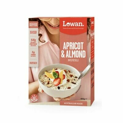 Lowan Apricot And Almond Muesli