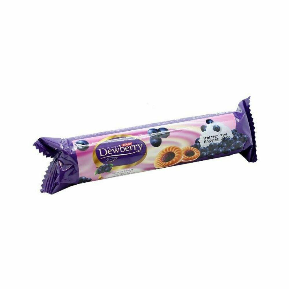Dewberry Cream Sandwich Cookies-Blueberry
