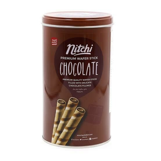 Nitchi Premium Wafer Stick Chocolate