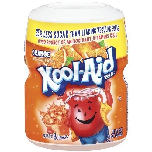 Drinking Powder Orange Flavour-Kool Aid