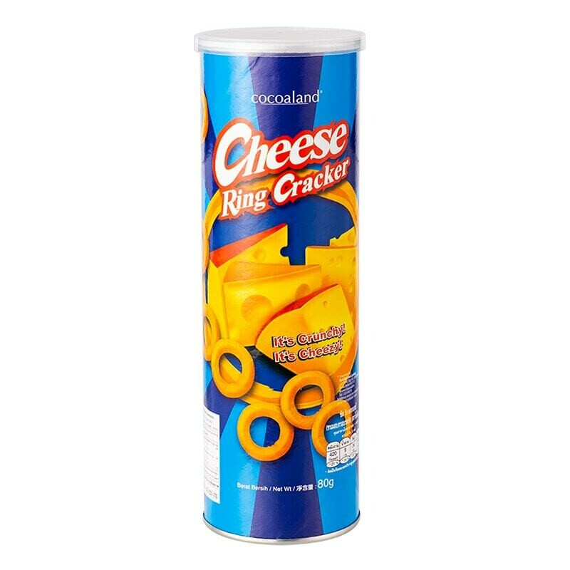 Cocoaland Cheese Ring Cracker