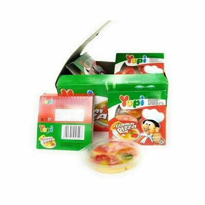 Yupi Gummi Pizza Candy