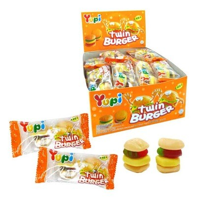 Yupi Twin Burger Candy