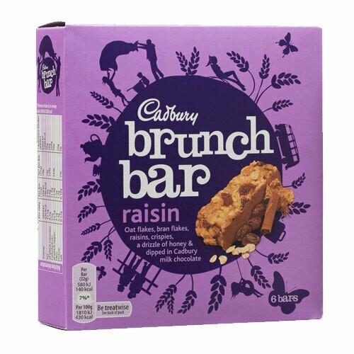 Cadbury Brunch Bar Raisin-6 Pack