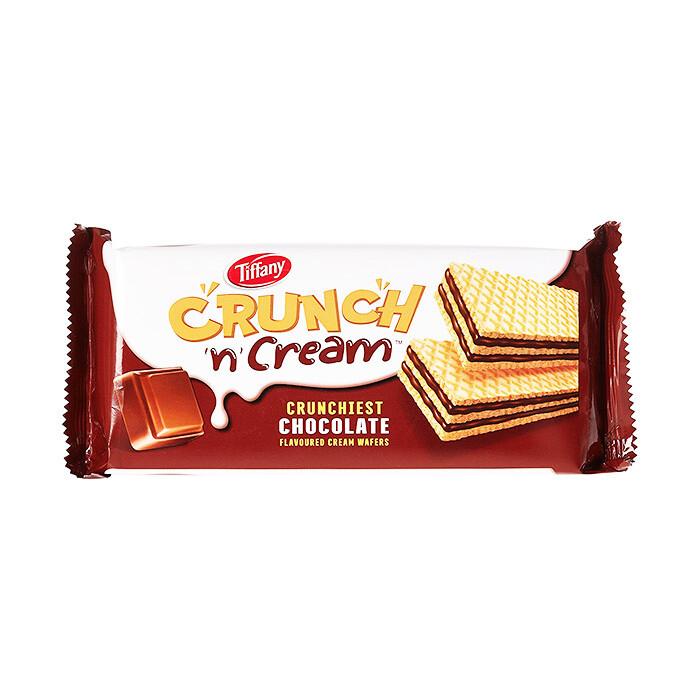 TIFFANY CRUNCH 'N' CREAM CHOCOLATE WAFERS