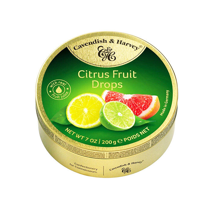 Cavendish & Harvey Citrus Fruit Drops