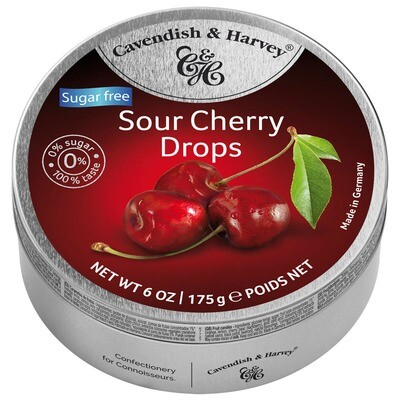 Cavendish & Harvey Sugar Free Sour Cherry Drops