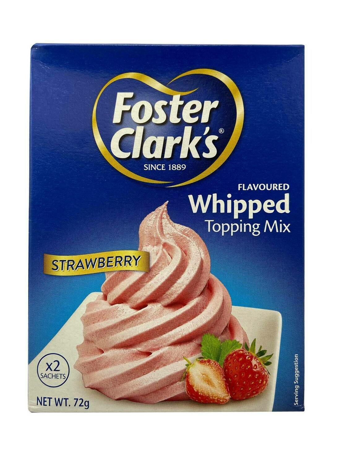 Foster Clark's Whipped Strawberry Topping Mix
