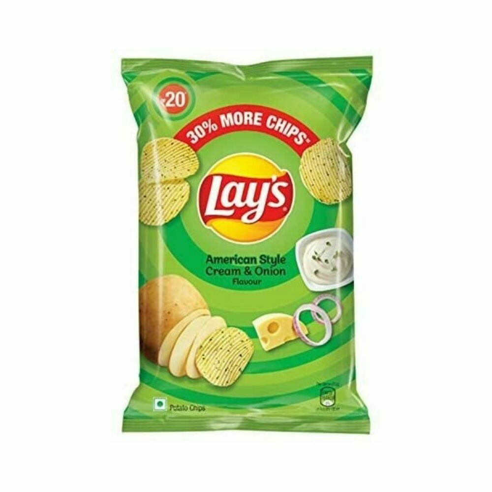 Lays chips Cream and onion