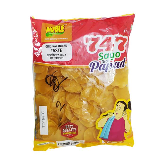 Sago Rice Papad Tomato Flavor