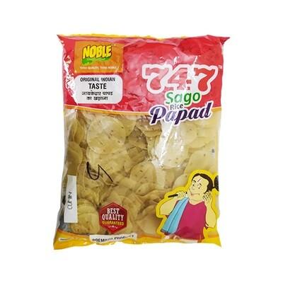 Sago Rice Papad Cumin Flavor
