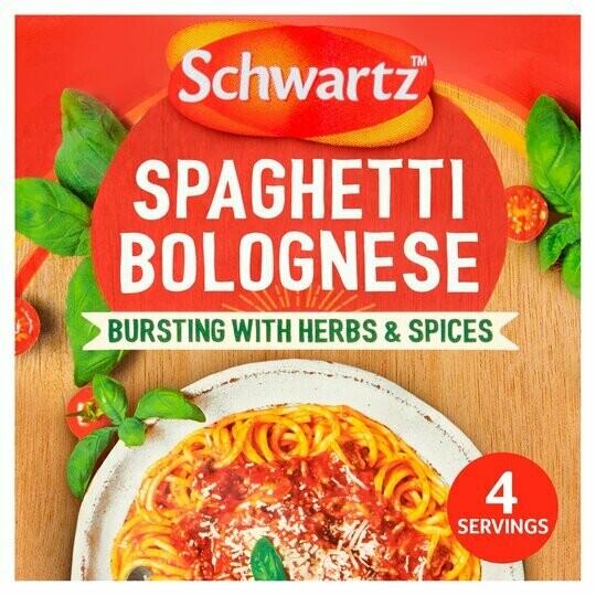 Schwartz Spaghetti Bolognese Sauce Mix (UK)