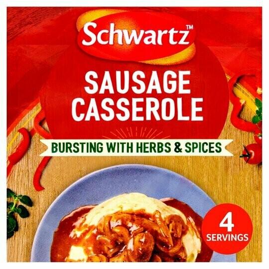 Schwartz Sausage Casserole Mix (UK)