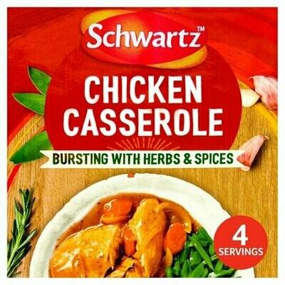 Schwartz Authentic Chicken Casserole Mix (UK)
