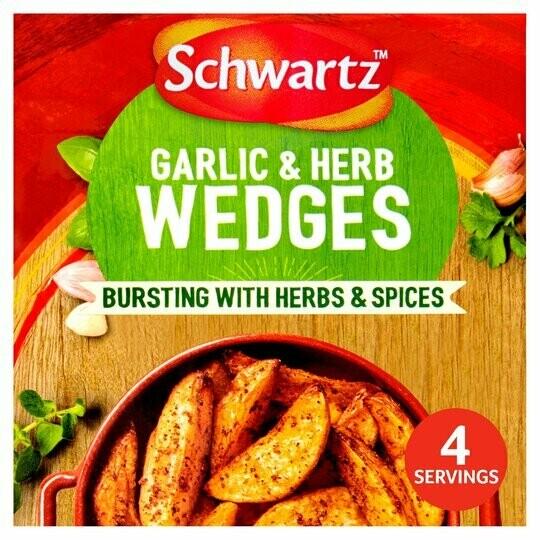 Schwartz Garlic & Herb Wedges (UK)
