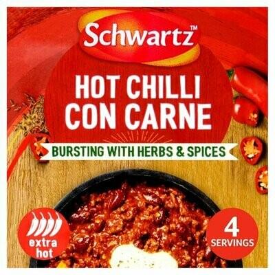 Schwartz Hot Chilli Con Carne Casserole Mix (UK)