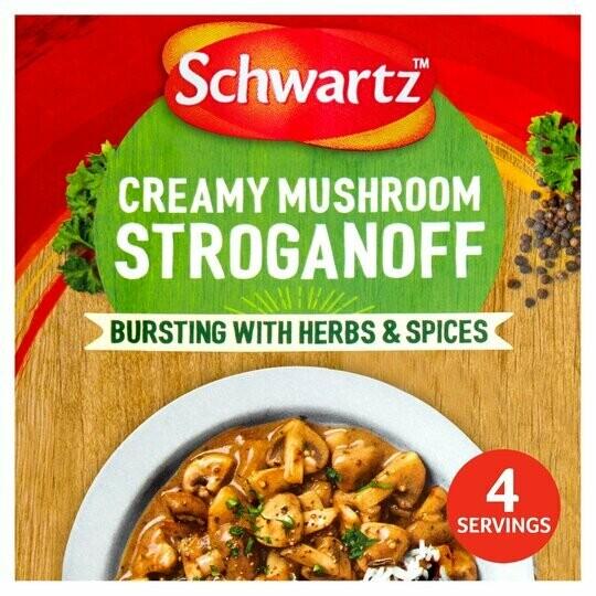 Schwartz Mushroom Strogonoff Mix (UK)