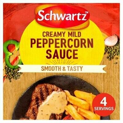 Schwartz Creamy Mild Peppercorn Sauce (UK)