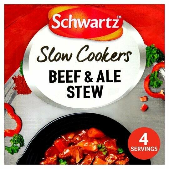 Schwartz Slow Cooker Beef & Ale Stew (UK)