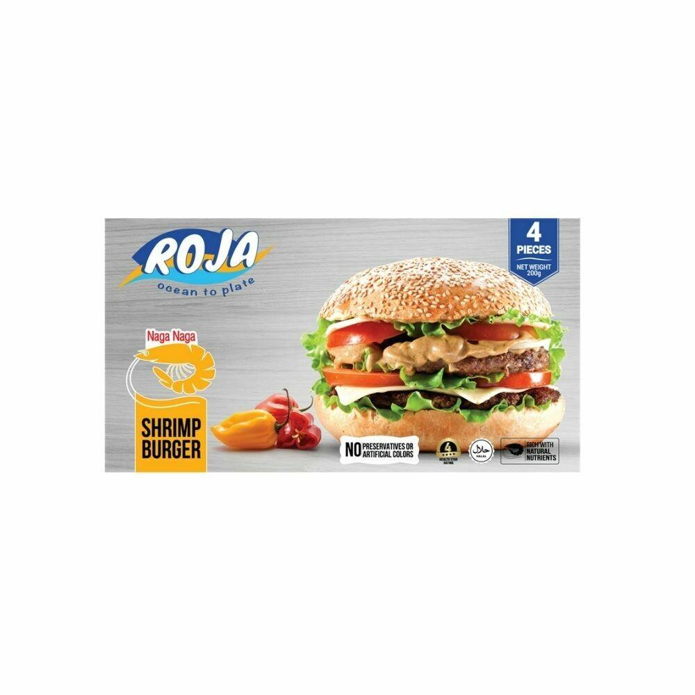 Shrimp burger patty-Roja