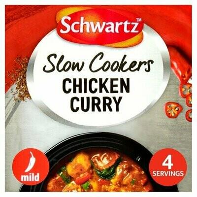 Schwartz Slow Cookers Chicken Curry (UK)