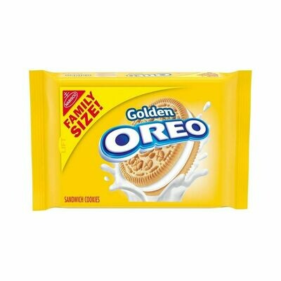 Oreo Golden Sandwich Cookies-Family Size