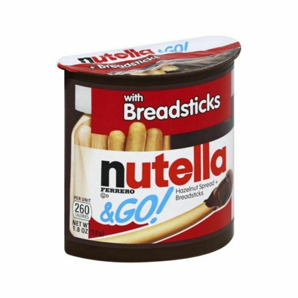 Nutella & Go! Hazelnut Spread with Breadsticks