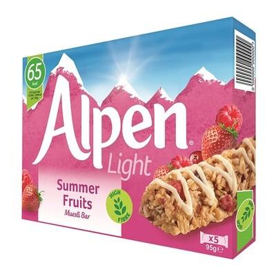 Alpen Light Summer Fruits Muesli Bar