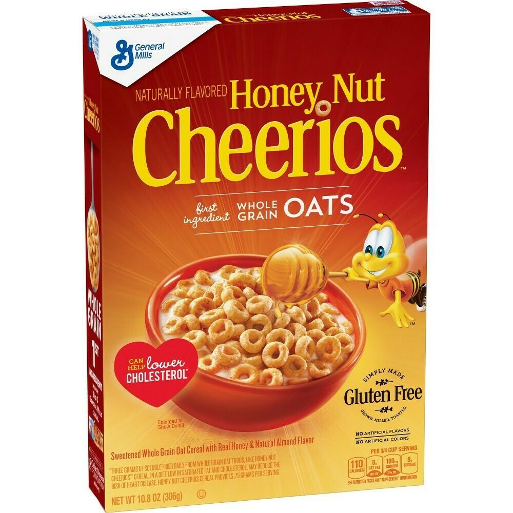 Honey Nut Cheerios Breakfast Cereal