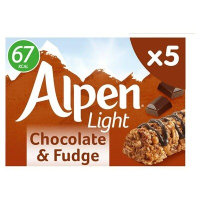 Alpen Light Chocolate & Fudge Bars
