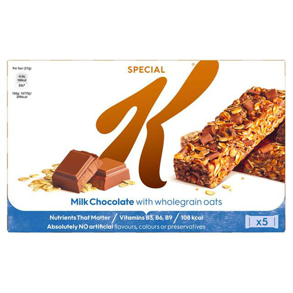 Kellogg's SpecialMilk Chocolate Oats Bars