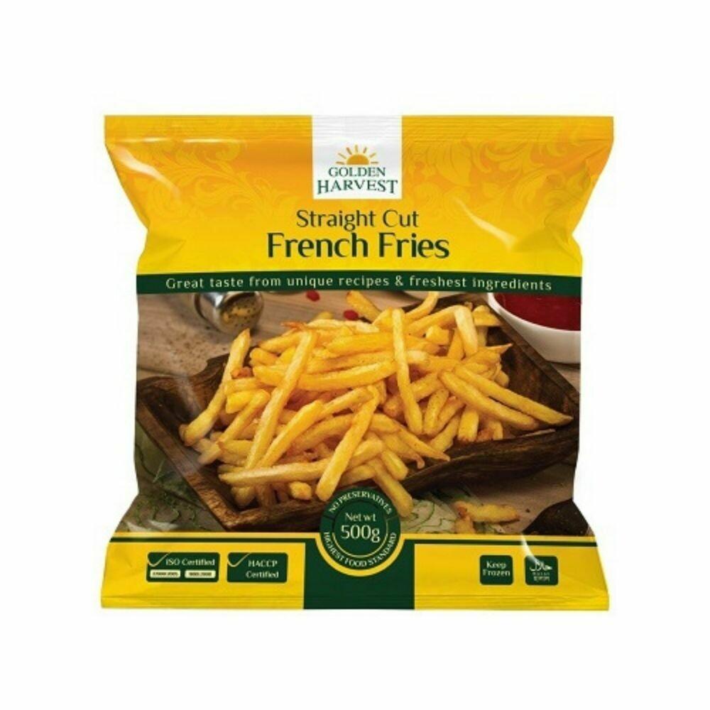 Straignt Cut French Fries-Golden Harvest