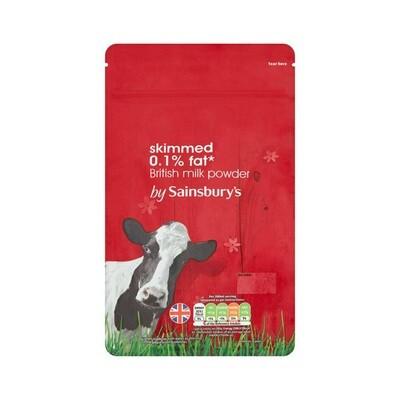Sainsbury's Skimmed British Milk Powder (UK)