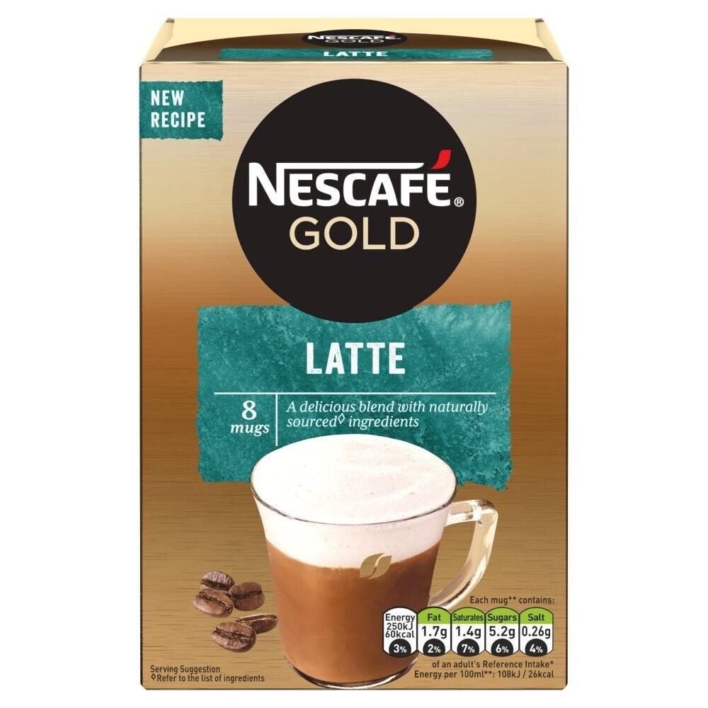 Nescafe Gold Latte Instant Coffee