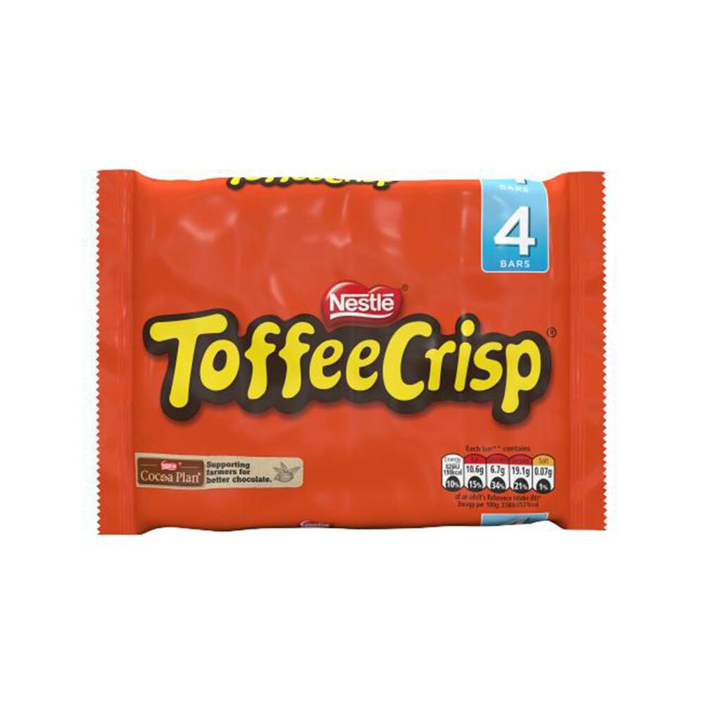 Nestle Toffee Crisp Multipack Chocolate Bar (UK)