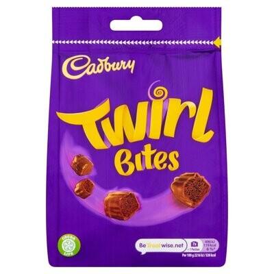 Cadbury Twirl Bites Chocolate Bag (UK)