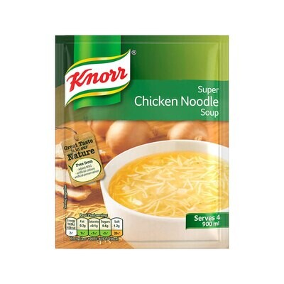 Knorr Chicken noodle soup mix (UK)