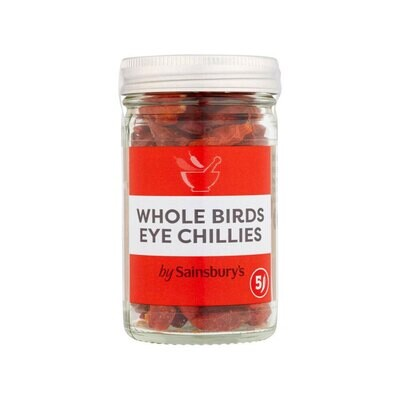 Sainsbury's Whole Birds Eye Chillies-Peri Peri (UK)