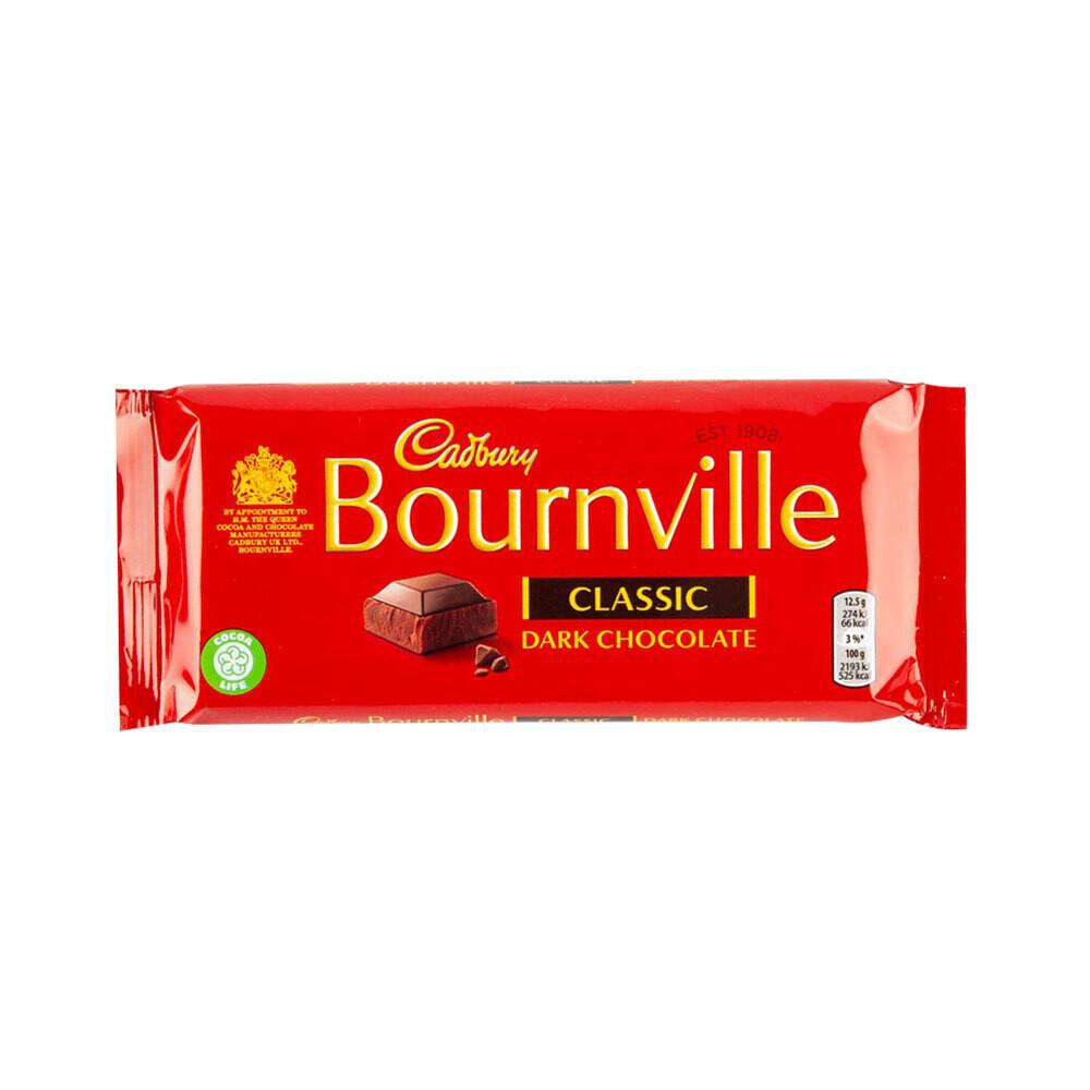 cadbury bournville dark chocolate bar
