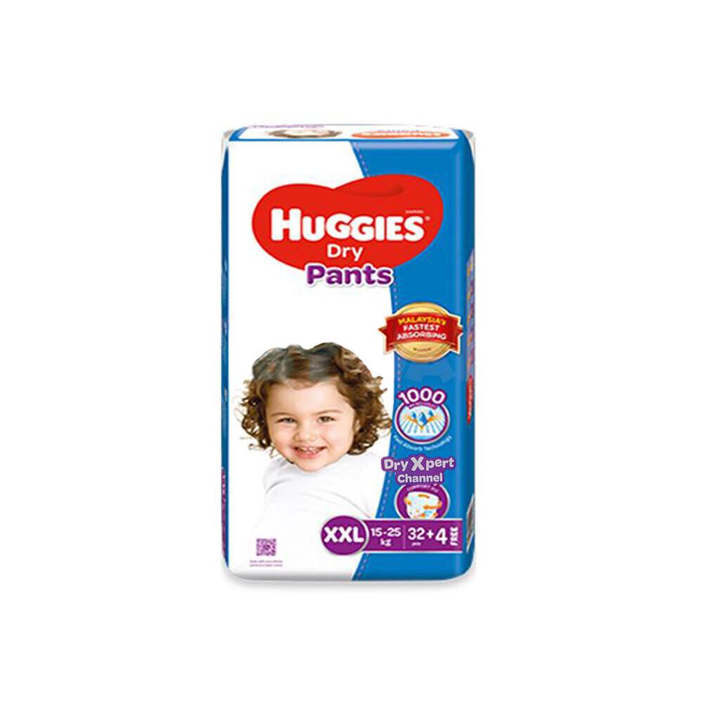 Huggies Dry Pants XXL(15-25kg) 36pcs