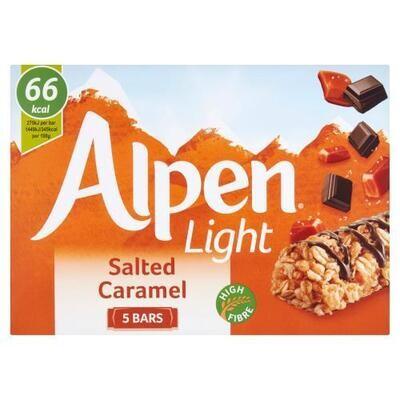 Alpen Light Bars Salted Caramel