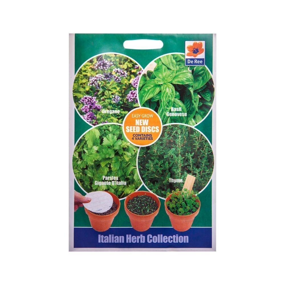 Italian herbs Seeds (Oregano,Basil,Parsley,Thyme)-UK