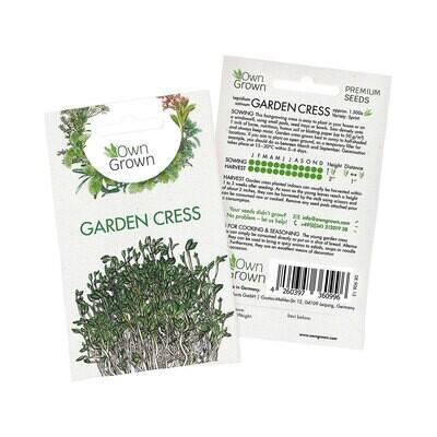 Own Grown Garden Cress Seeds (Germany)
