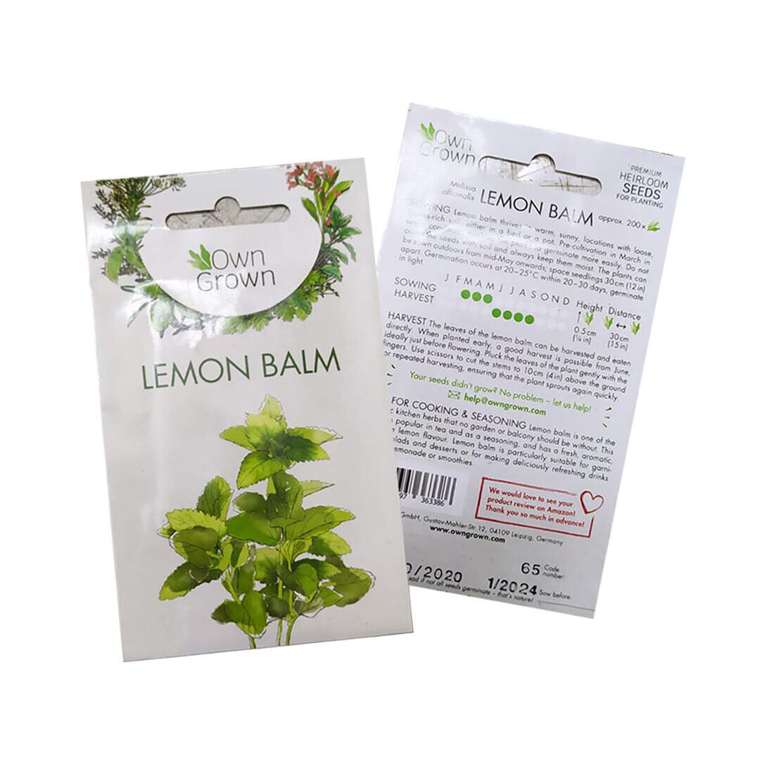 Lemon Balm Seeds (Germany)
