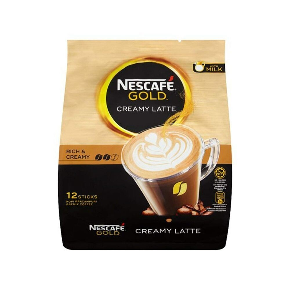 Nescafe Gold Creamy Latte 12 Sticks