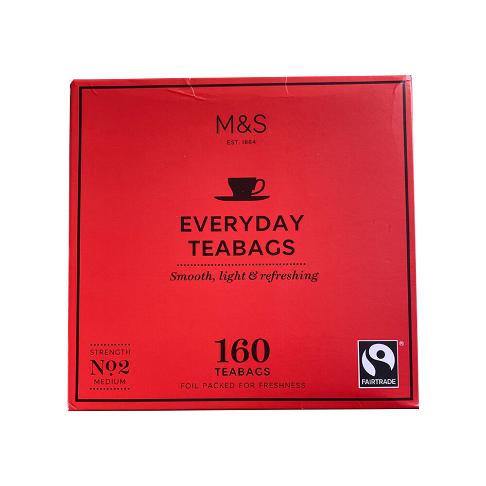 M&S Everyday Teabags (160 Teabags)-UK