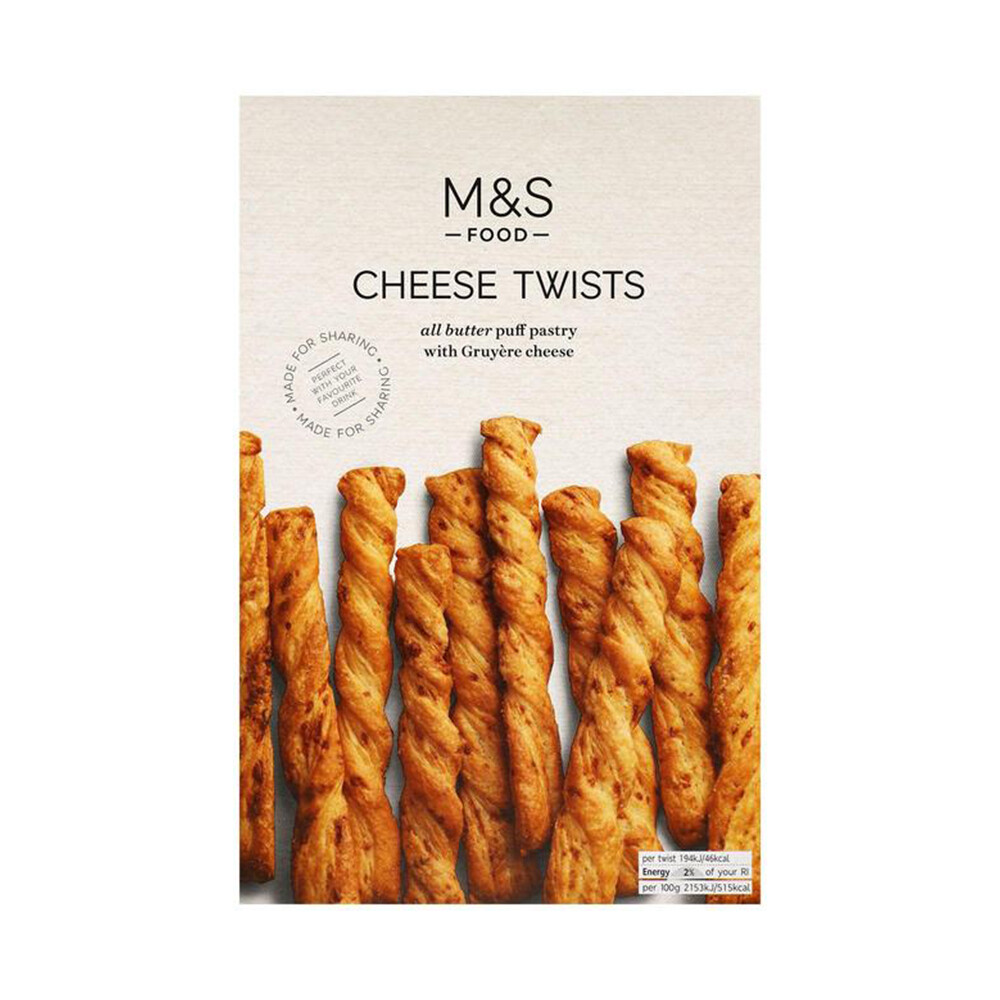 M&S Cheese Twists