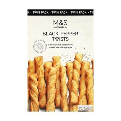 M&S Black Pepper Twists (UK)