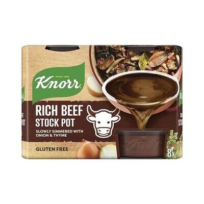 Knorr Rich Beef Stock Pot (8 Pots)-UK