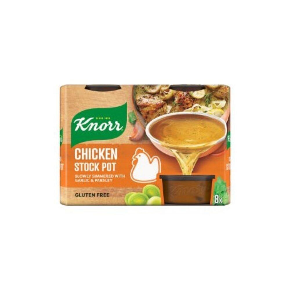 Knorr Chicken Stock Pot (8 Pots)-UK